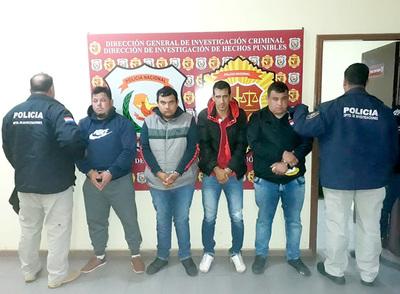 Cuatro procesados por asalto a contratista de obras, incluyendo a un empleado infiel
