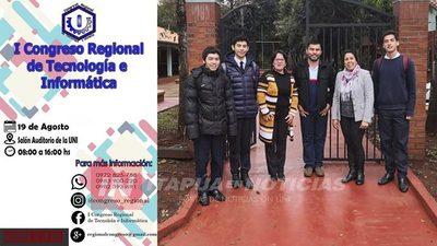 CONGRESO REGIONAL DE INFORMÁTICA SE LLEVARÁ A CABO EN ENCARNACIÓN
