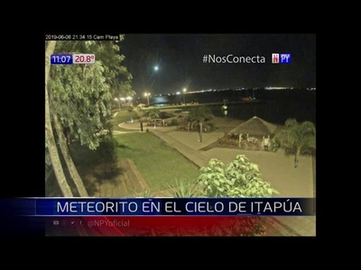 IMPRESIONANTES IMÁGENES DE COMETA EN ITAPÚA