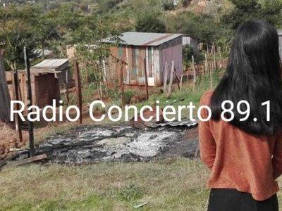 Despechado quemó la humilde casa de su ex