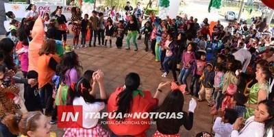 BULLICIOSO Y COLORIDO FESTEJO POR EL DÍA DEL NIÑO SE DESARROLLÓ EN LA GOBERNACIÓN DE ITAPÚA
