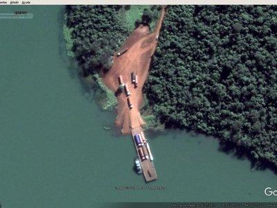 Puerto clandestino en reserva de Itaipú funciona con total impunidad