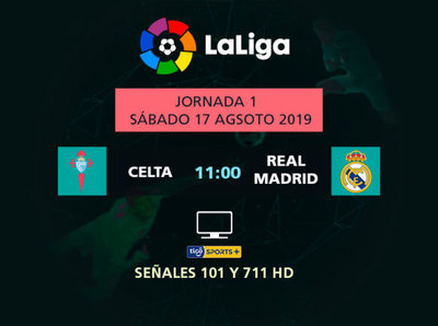 Arranca La Liga en Tigo Sports con el debut del Real Madrid