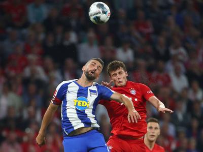 Hertha Berlín opaca el estreno del campeón alemán