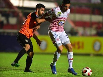 San Lorenzo salva un empate en la agonía