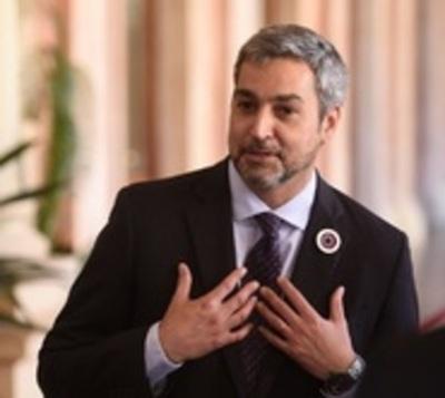 Mario Abdo insta a respetar la voluntad popular