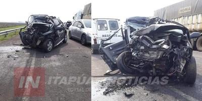 GRAVE ACCIDENTE DEJA UN AUTOMOVILISTA HERIDO EN SAN PEDRO DEL PNA.