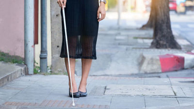 Dinatran reitera que personas con discapacidad visual no pagan pasaje