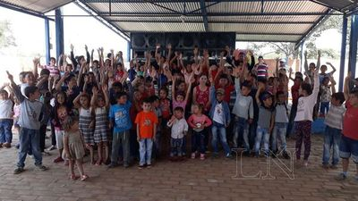 Niños de comunidades rurales celebraron su día en San Pedro