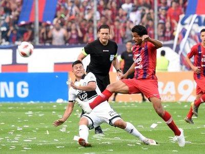 Zapag disparó contra el árbitro Samaniego
