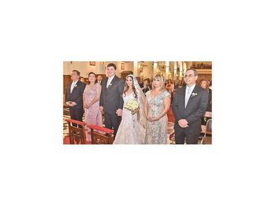 El casamiento de Larissa y Fernando