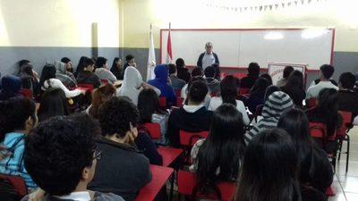 Estudiantes del Instituto del Saber se nutrieron de la historia de San Lorenzo