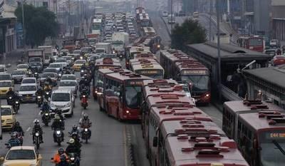 Los países con mayor congestión en América Latina: encabeza Colombia, pero Brasil gana con cantidad de ciudades