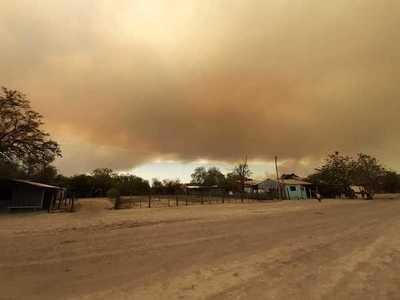 Controlan incendio en reserva del Pantanal Paraguayo y verificarán región afectada