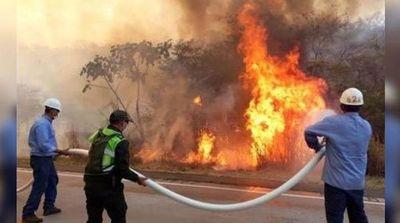 """Declaran """"desastre departamental"""" por incendios en el este de Bolivia"""