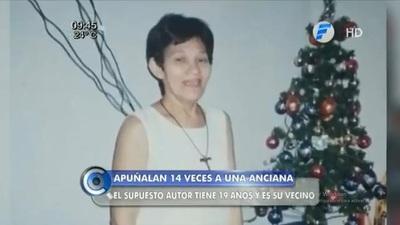 Mujer recibe 14 puñaladas en un intento de robo