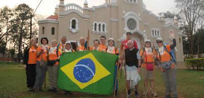 """Más de 700 Km a pie por el """"Camino de las Misiones"""""""
