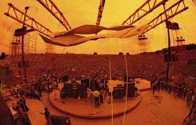 Jim Marshall dispara en Woodstock: la energía de la multitud