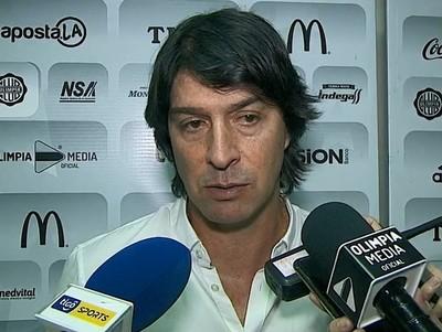 Daniel Garnero valora el punto conseguido en la Nueva Olla
