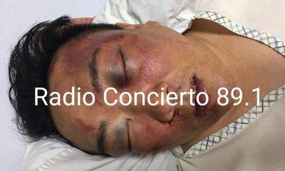 Empresario oriental es brutalmente golpeado dentro de iglesia al intentar defender a su esposa