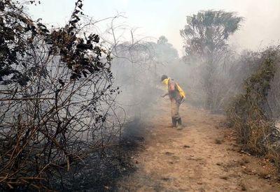 Incendio forestal en reserva del Chaco se encuentra controlado, según la SEN