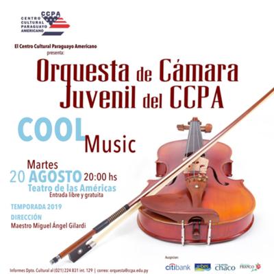 La Orquesta de Cámara Juvenil del CCPA ofrecerá concierto este martes