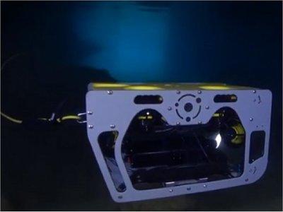 Desarrollan dron submarino para transportar crías de tiburón