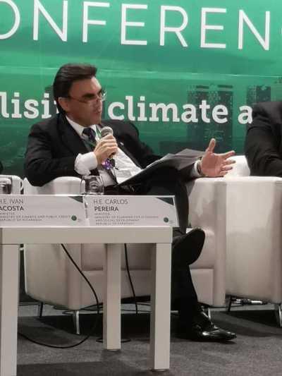 Paraguay presenta propuestas para mitigar el cambio climático en conferencia del Fondo Verde