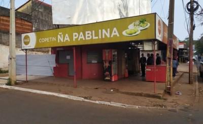 """Clausuran copetín """"Ña Pablina"""" por trasgredir ordenanzas"""