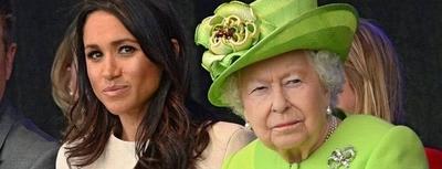 """HOY / No """"se llevan"""": la reina Isabel no  quiere que Meghan Markle y el  príncipe Harry vivan en su castillo"""