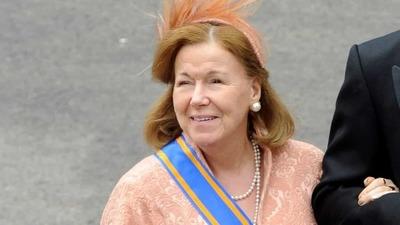 La familia real holandesa en duelo por la muerte de la princesa Cristina
