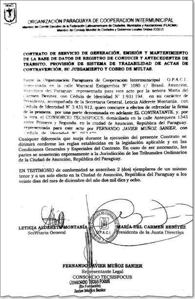 Opaci otorgó hace un año manejo de datos de licencias
