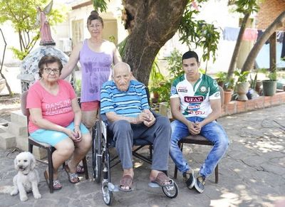 El barrio Trinidad pierde a su  héroe de guerra