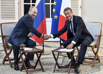 Macron y Putin vieron avances en Ucrania, pero no sobre Siria