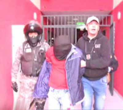 Policía desbarata banda de extorsionadores