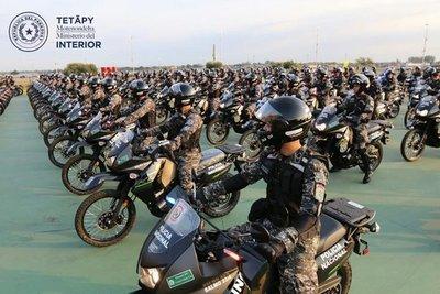 Policía Nacional anuncia distribución proporcional de oficiales del Grupo Lince en Capital y Central