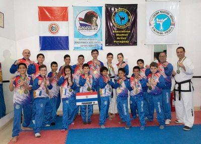 Taekwondistas obtuvieron 8 medallas de oro