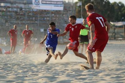 Selección de Fútbol de Playa golea a Hungría en encuentro de preparación al Mundial