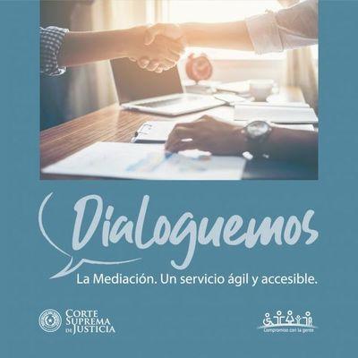 "Campaña ""Dialoguemos"" busca difundir ventajas de Mediación"
