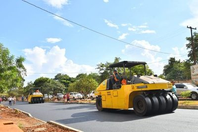 Itaipu financiará pavimentación asfáltica de calles urbanas de distrito Mariscal López