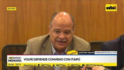 Volpe defiende postura de la UIP sobre el acta entreguista