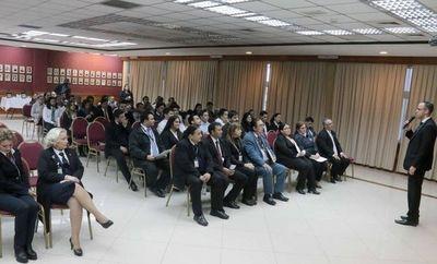 Funcionarios de Marcas y Señales participaron de jornada de reinducción