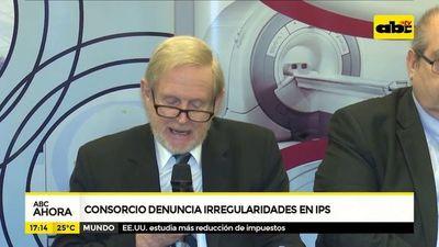 Consorcio denuncia irregularidades en IPS