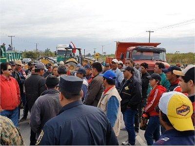 Concepción: Liberaron paso momentáneamente