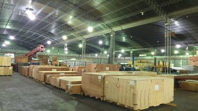 Yacyretá recibe equipos para iniciar conexión de línea de 500 kV