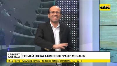 """Fiscalía libera a Gregorio """"Papo"""" Morales"""