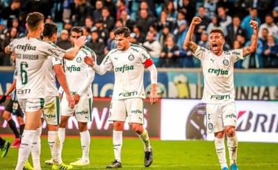 HOY / Palmeiras vence a Gremio y se acerca a la semifinal