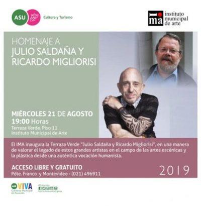 IMA habilitará este miércoles terraza verde dedicada a Julio Saldaña y Ricardo Migliorisi