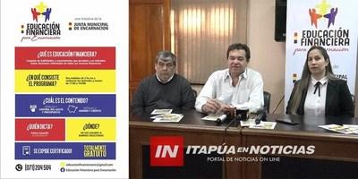 ANUNCIAN CURSO DE EDUCACIÓN FINANCIERA PARA ENCARNACIÓN