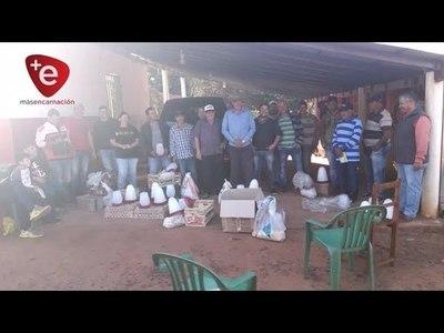 ENTREGAN POLLITOS, EQUIPOS E INSUMOS A PRODUCTORES DE CAMBYRETÁ